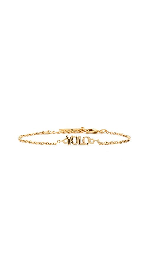 Dainty YOLO Bracelet
