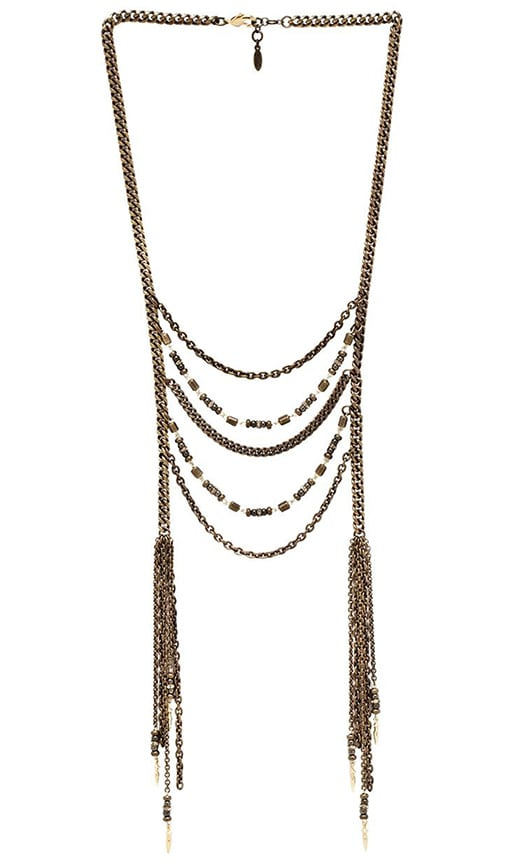 Beaded Long Lariat Necklace