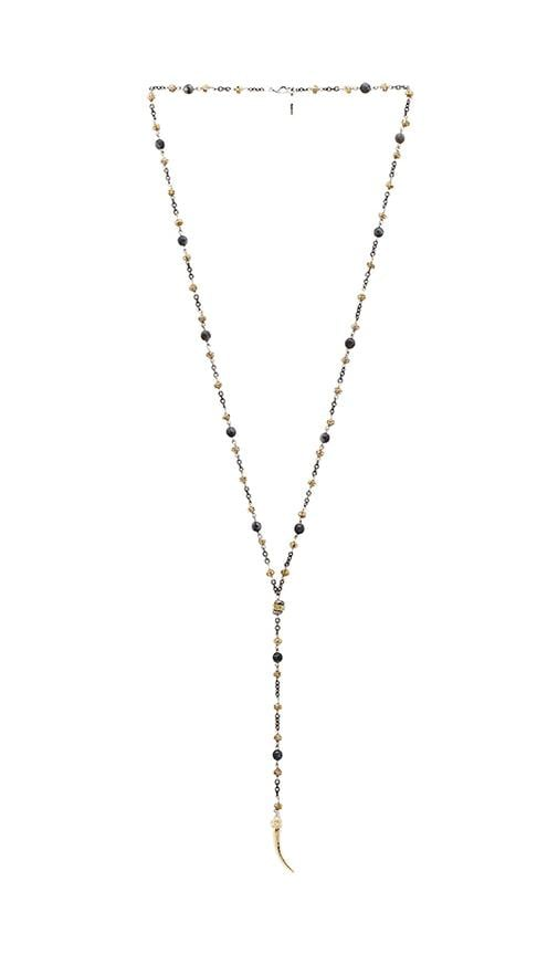 Horn Rosary Necklace
