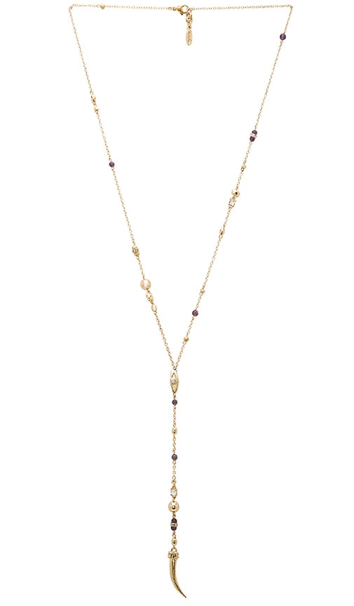 Evil Eye Beaded Lariat Necklace