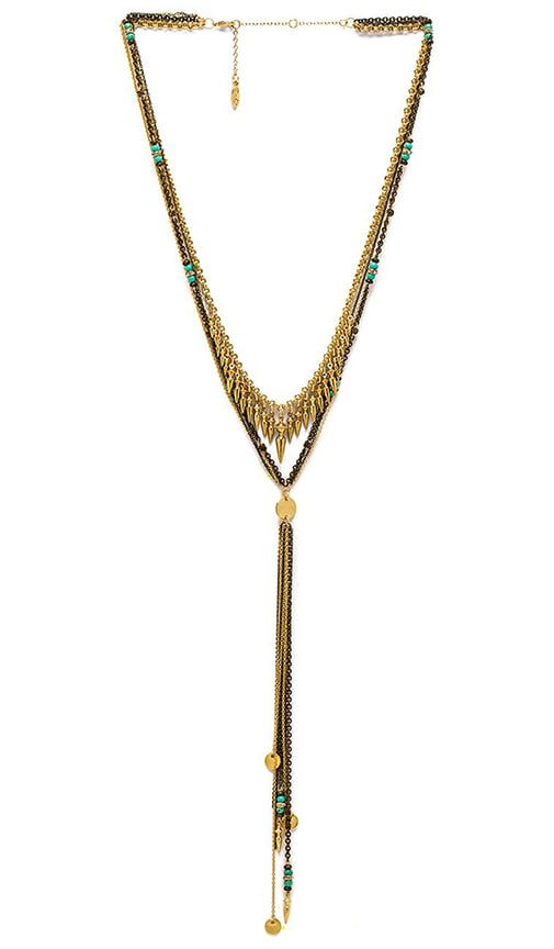 Multi Spike Layered Necklace