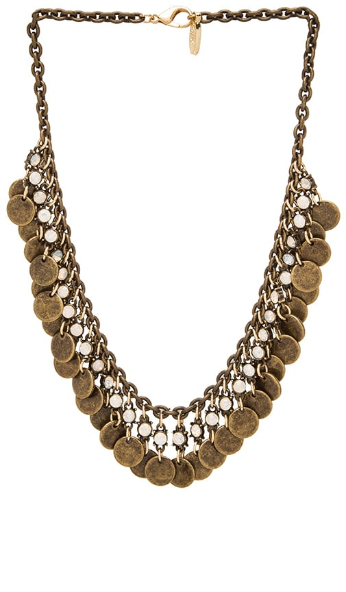Disc and Choker Necklace