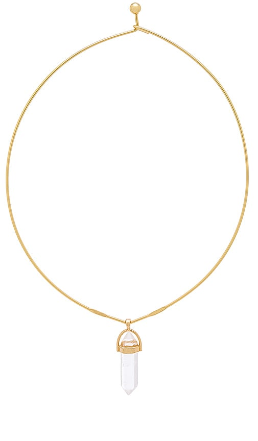 Ettika Wire Choker in Metallic Gold