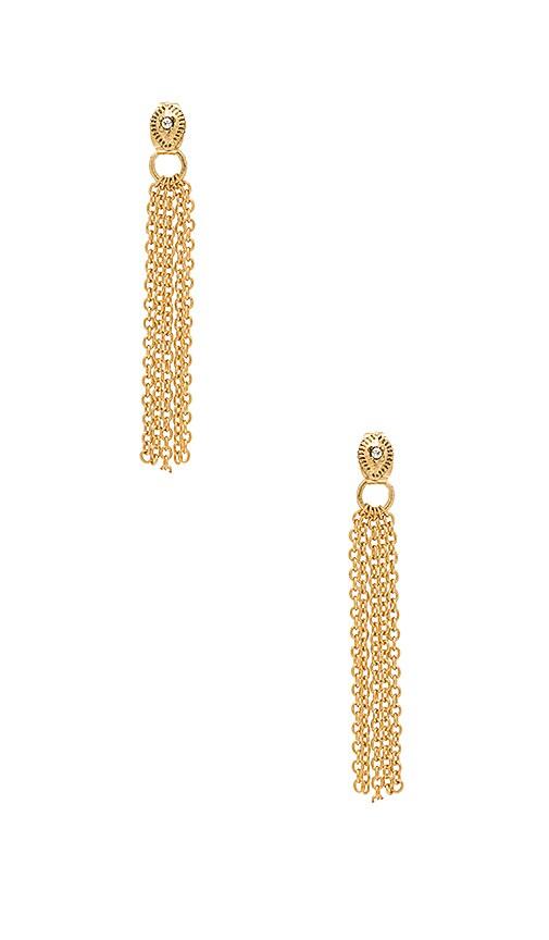 Ettika Stud Earring in Gold