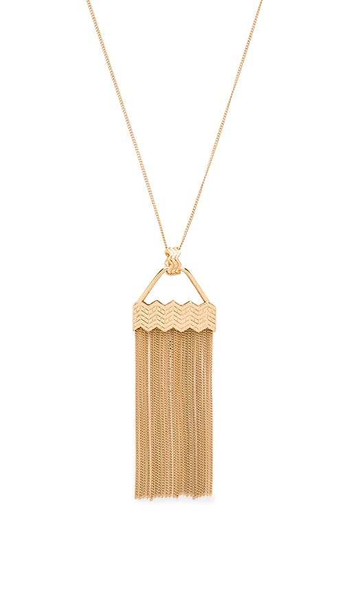 Ettika Power Rays Necklace in Metallic Gold