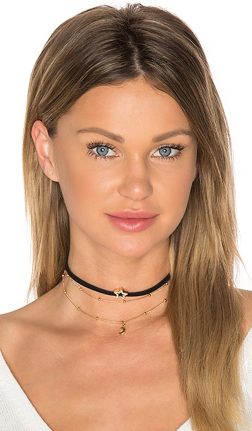 Ettika Choker Necklace in Black gTFla67
