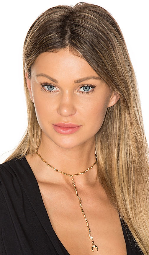 Fashionably Late Drop Choker