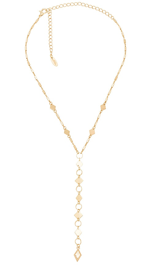 Ettika Tear Drop Necklace in Metallic Gold JVVxd4rPC6