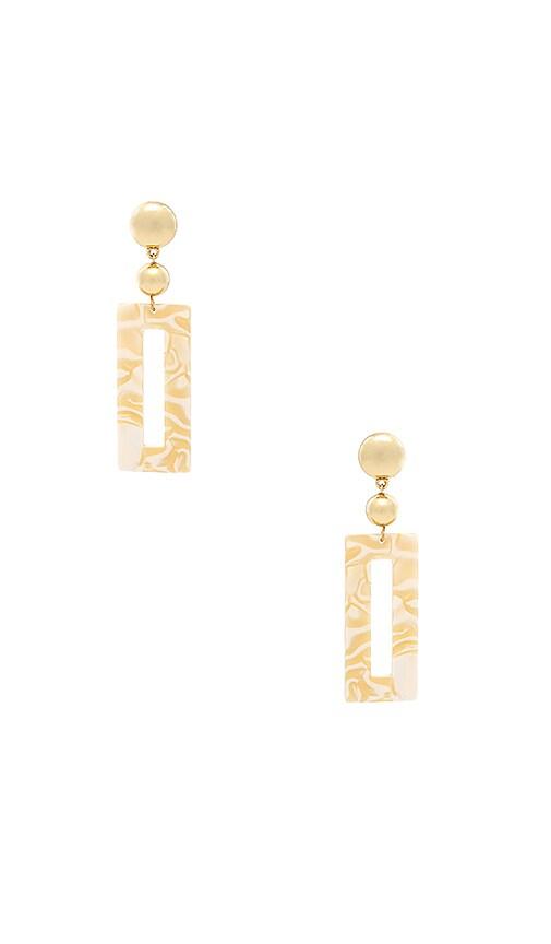 Rectangular Drop Earrings