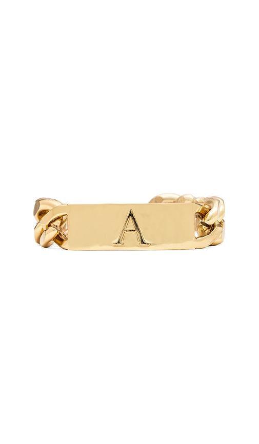 A Initial ID Bracelet