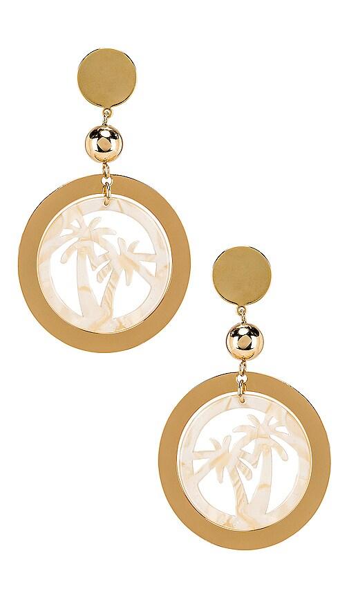 Palm Tree Earring