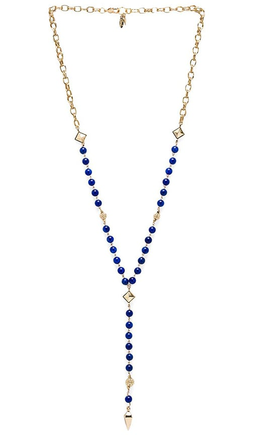 Rosary Necklace with Pyramids and Spikes