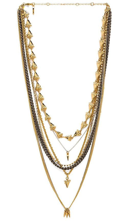 Sharktooth Layered Necklace