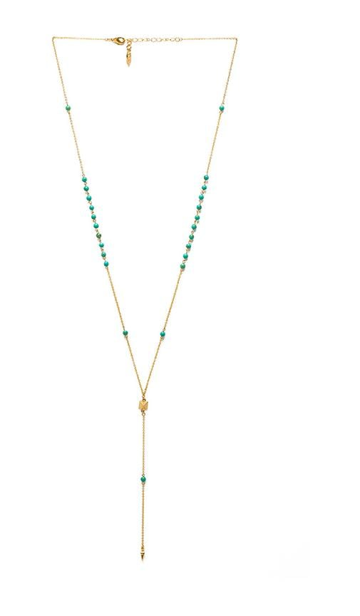 Dainty Pyramid Lariat with Beads