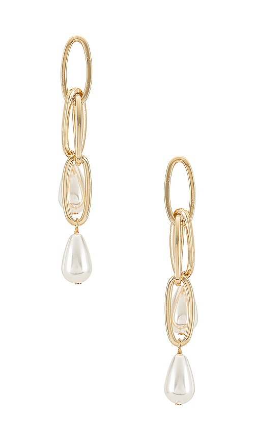 Ettika Earrings PAPERCLIP DROP EARRINGS