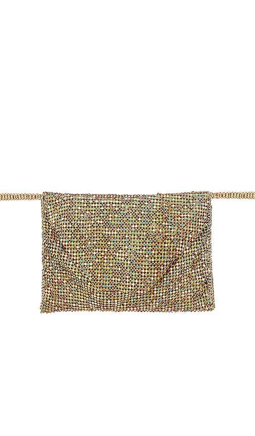 Rainbow Crystal Belt Bag