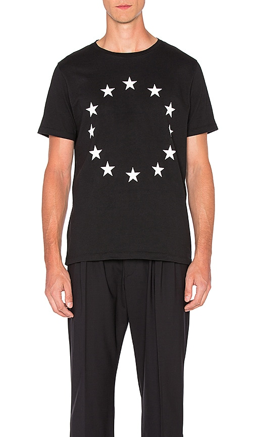 Etudes Studio Page Europa Tee in Black
