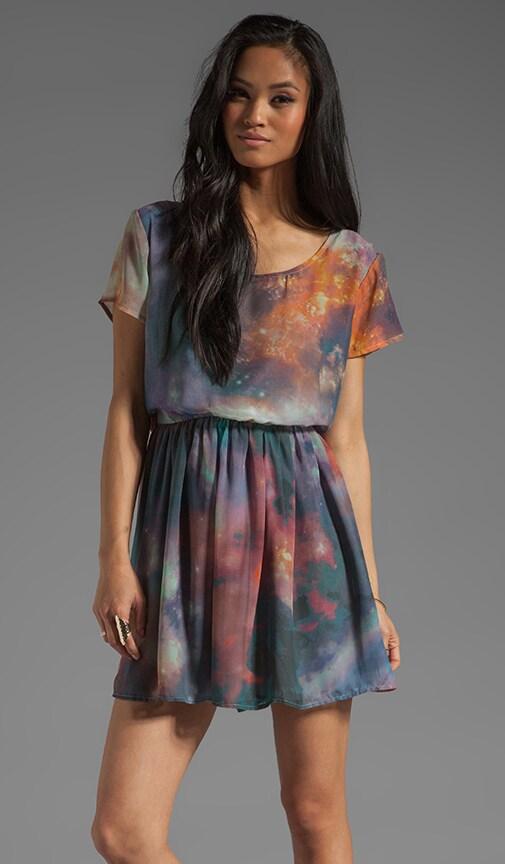 Triple Swirl Babydoll Dress