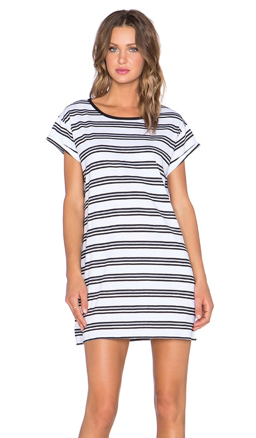 Crooked Young Striped Tee Dress
