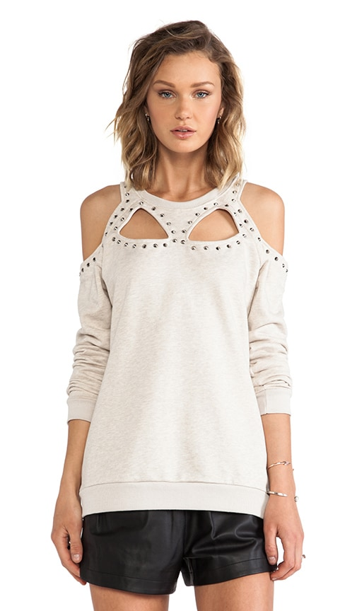 Evil Twin Defensive Studded Cut Out Sweater