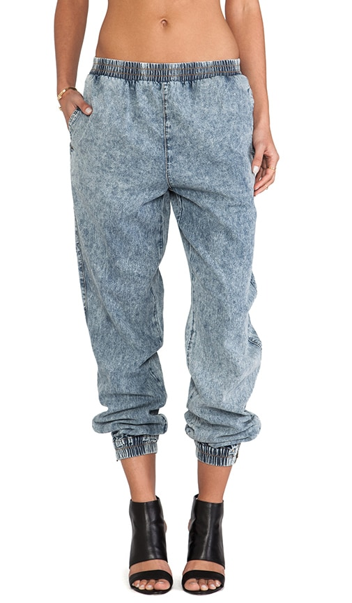 Slow Burn Denim Jogger