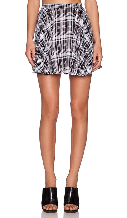 Evil Twin Things She Said Skirt in Black  e2e487c0ace0