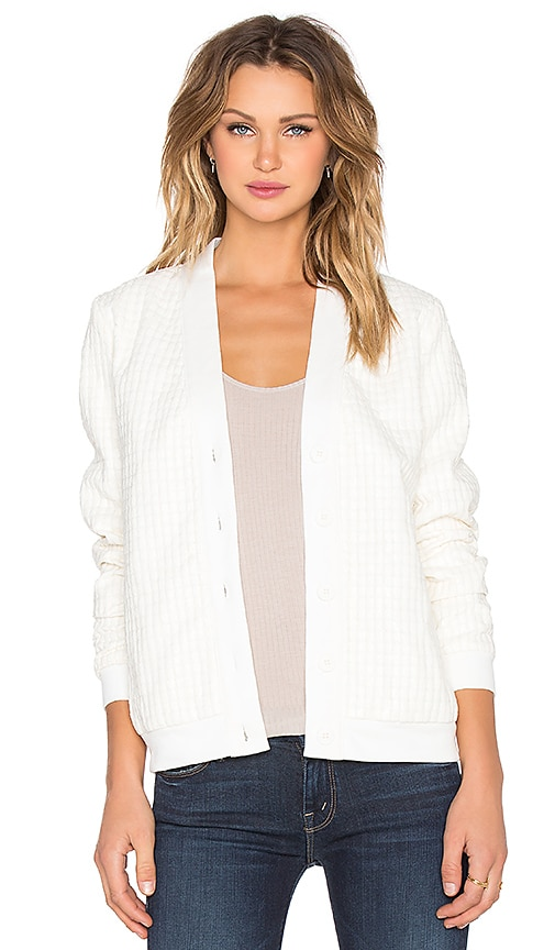 Whitney Eve Gibson Cardigan in White
