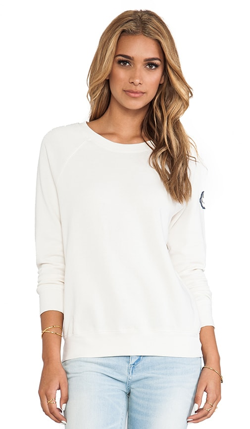 Open Neck Sweatshirt