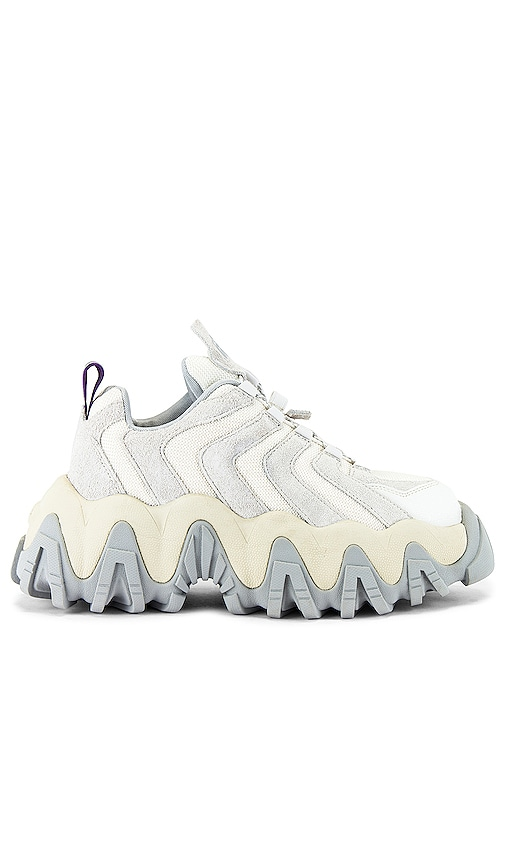 Eytys Halo Suede Sneaker in Off White