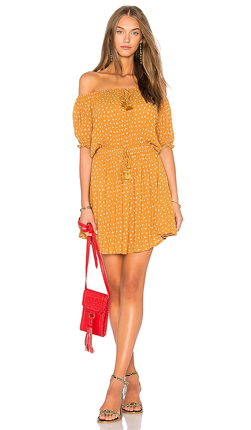 FAITHFULL THE BRAND x REVOLVE Jardim Dress in Yellow