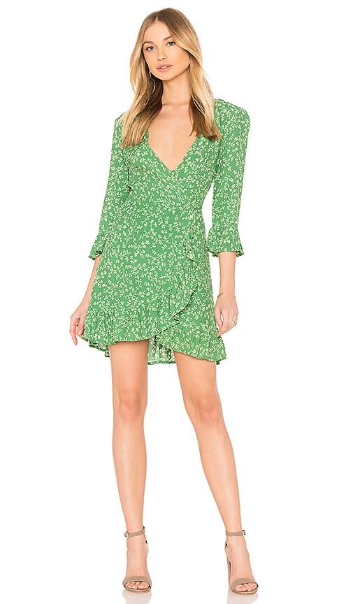 FAITHFULL THE BRAND Carmel Dress in Green