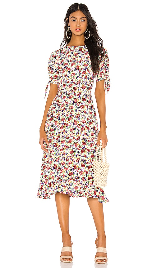 FAITHFULL THE BRAND Emilia Dress in Lumina Floral | REVOLVE