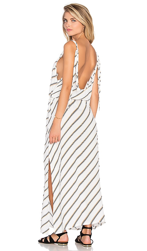 FAITHFULL THE BRAND Islands Dress in Cape Town Stripe Print