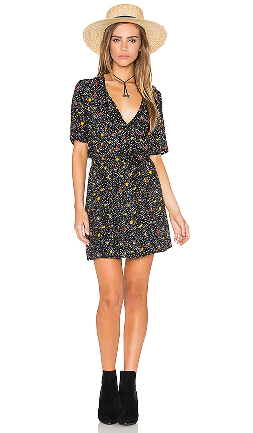 FAITHFULL THE BRAND Luna Dress in Black