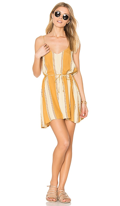 FAITHFULL THE BRAND Isola Dress in Tan