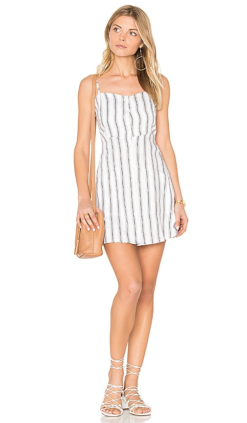 FAITHFULL THE BRAND Beso Dress in Gray