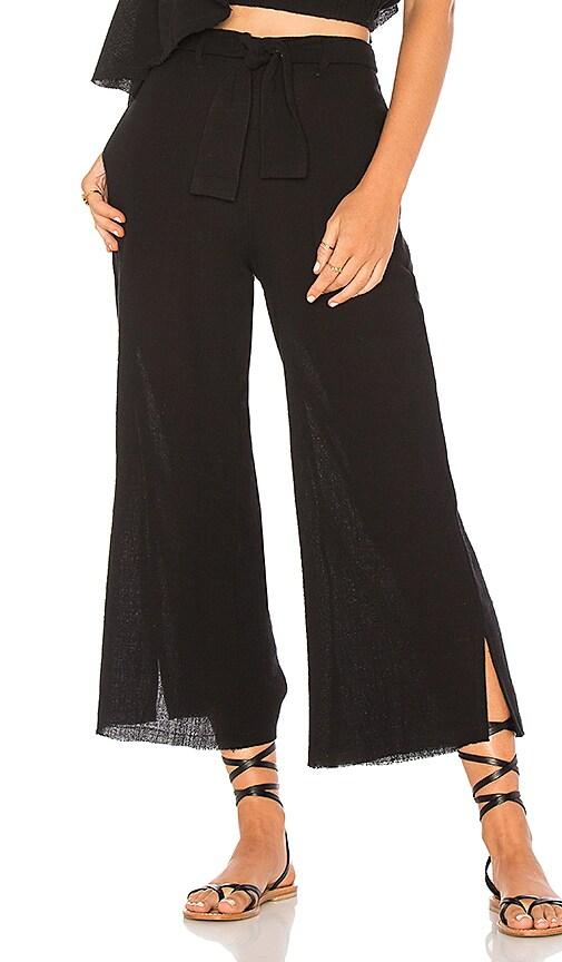 FAITHFULL THE BRAND Carmen Pants in Black