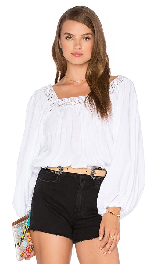 FAITHFULL THE BRAND Jane Top in White