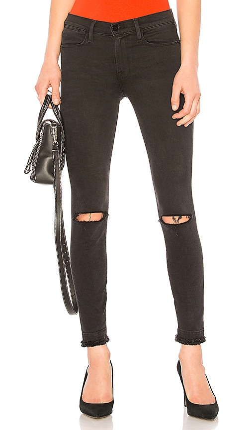 FRAME Le High Skinny Jean in Malloy