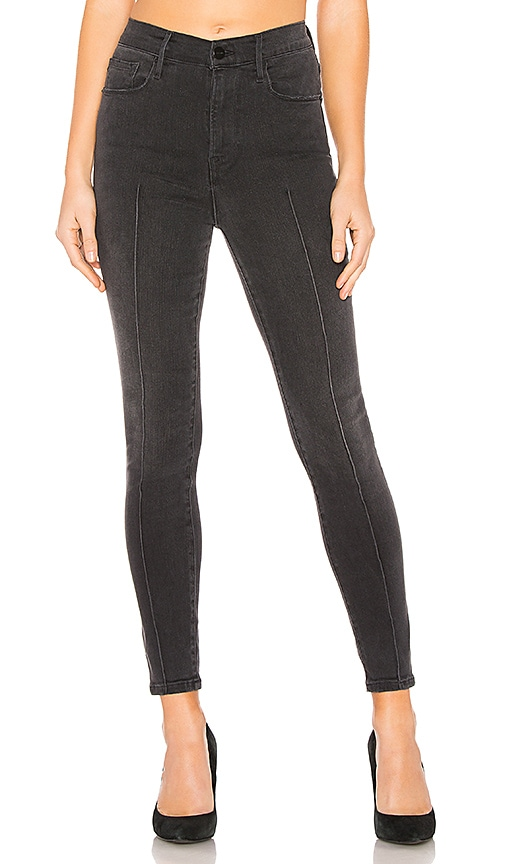 Ali High Rise Skinny Cigarette Pintuck