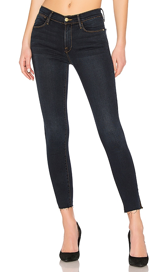 Le High Skinny Slit Jean