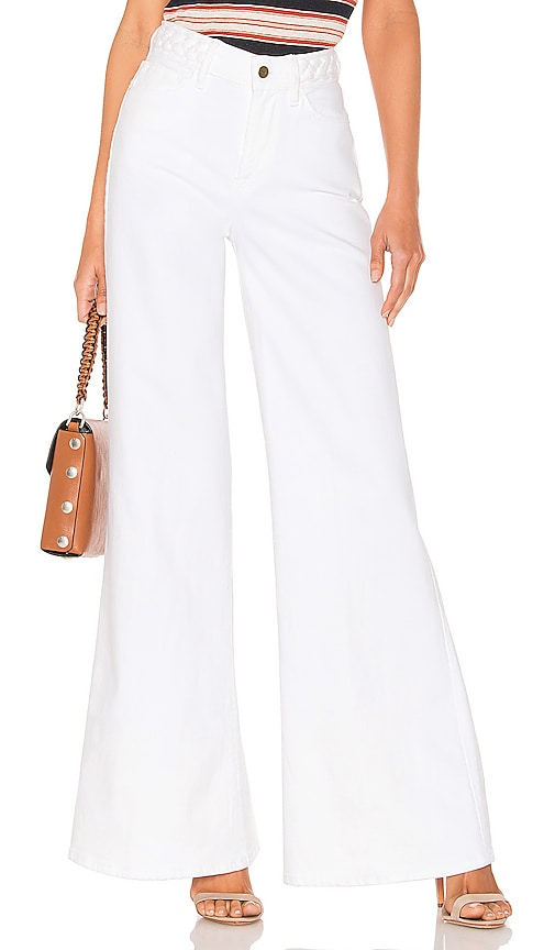 Le Palazzo Braided Wide Leg