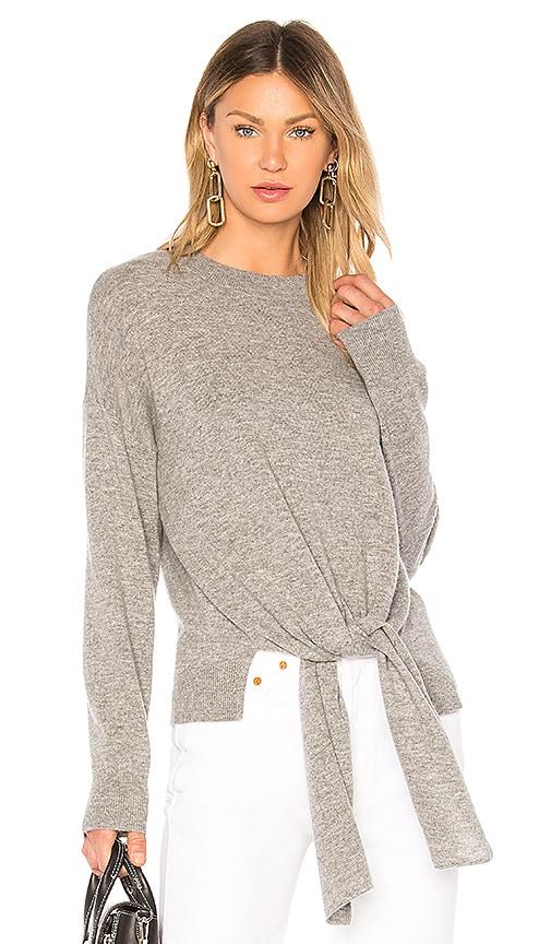 FRAME Twist Sweater in Gray