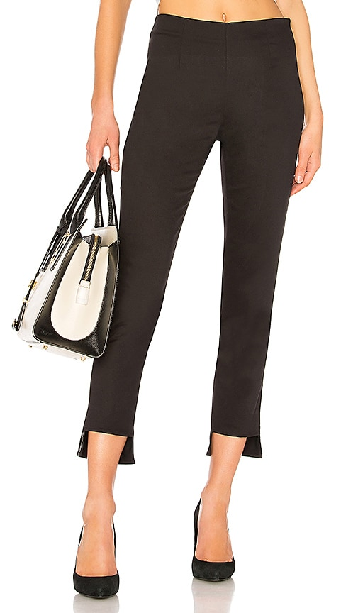 FRAME High Pencil Pant in Black