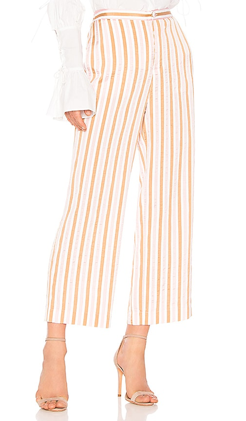 FRAME Relaxed Pant in Pink