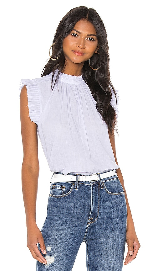 Tipped Sleeveless Top