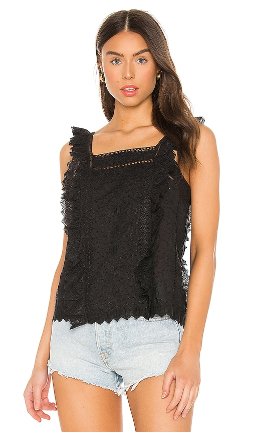 Frame Tops KATIE LACE TOP