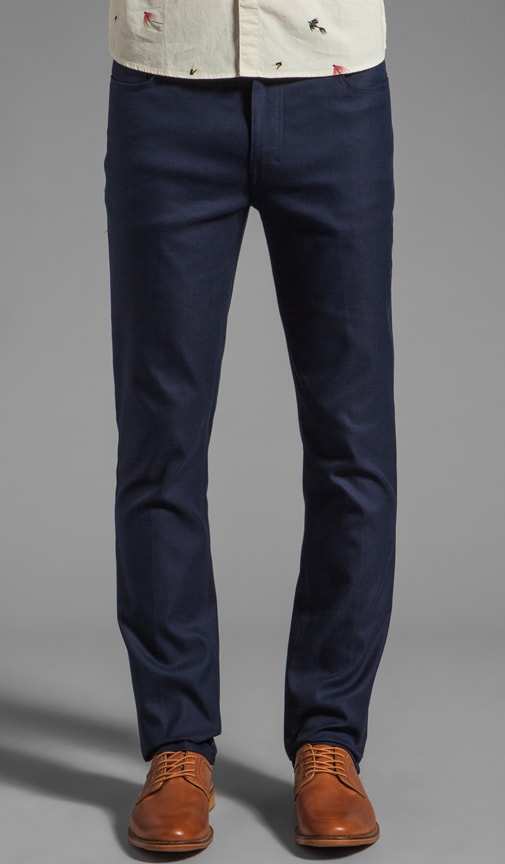 The Mills Slim Fit Hopsack Jean