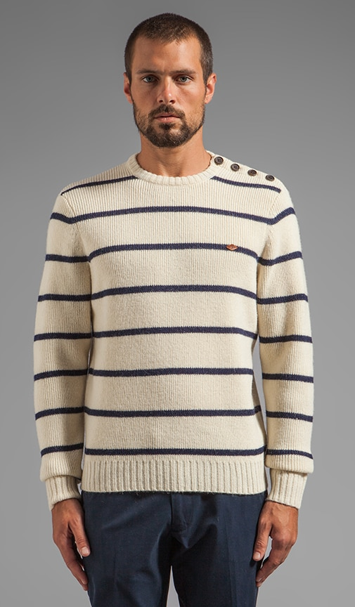 1920 Ewart Striped Pullover