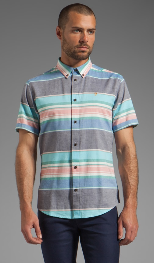 The Reno Short Sleeve Slim Fit Button Up